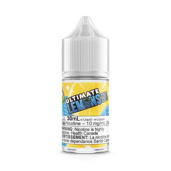 Blue Raspberry By Ultimate Lemons Nic Salt E-Liquid - 30ML