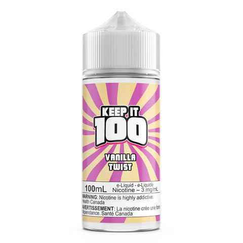 Vanilla Twist (Birthday Shake) By Keep It 100 E-Liquid - 100ML