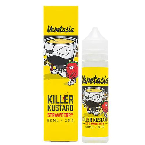 Killer Kustard Strawberry by Vapetasia  E-Liquid - 60ML - Sagavape.com