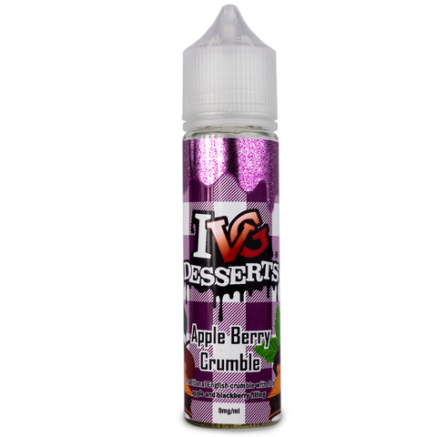 Apple Berry Crumble E-Liquid By IVG - 60ML - Sagavape.com
