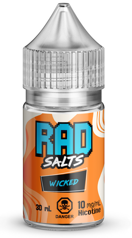 Wicked By Rad Nic Salt E-Liquid - 30mL