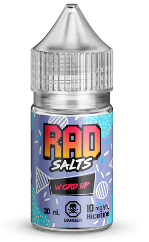Word Up By Rad Nic Salt E-Liquid - 30mL