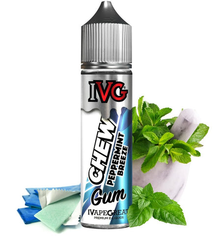 Peppermint Breeze By E-Liquid By IVG Chew - 60mL