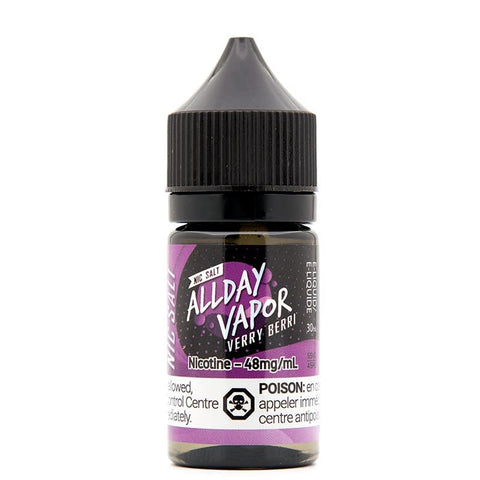 Verry Berri By All Day Vapor E-Liquid Nic Salt - 30ML