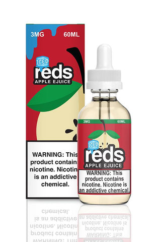 Iced Reds Apple eJuice Apple By 7Daze E-Liquid - 60ML - Sagavape.com
