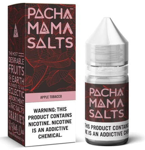 Apple Tobacco Pachamama Salts By Charlie's Chalk Dust Nic Salt - 30mL
