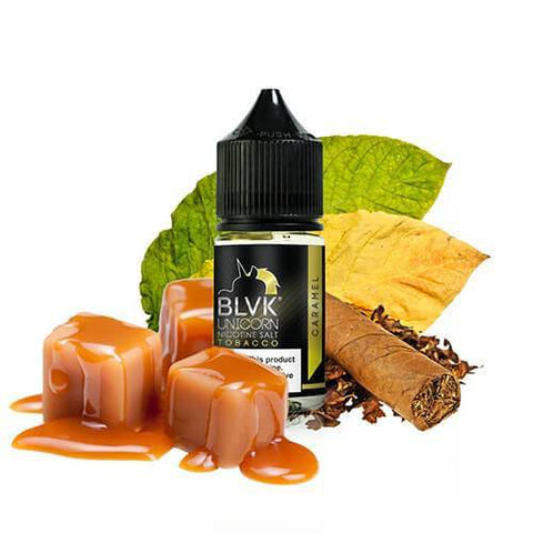 Tobacco Caramel By BLVK Unicorn Nic Salt E-Liquid - 30ml