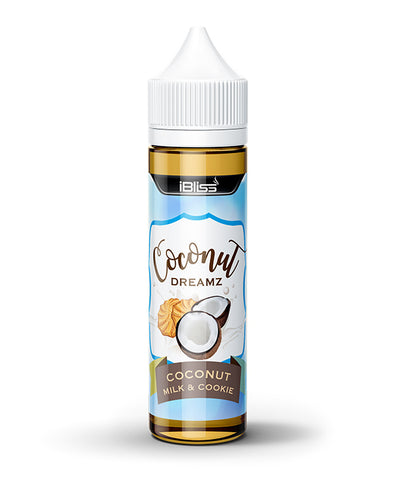 iBliss Coconut Milk & Cookie E-Liquid - 60ML - Sagavape.com
