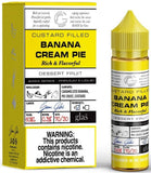 Banana Cream Pie By Glas Basix Series E-Liquid - 60mL
