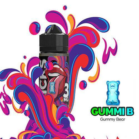 GummIB Licks By Juice Roll Upz E-Liquid - 100ml