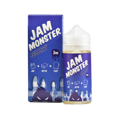 Blueberry By Jam Monster E-Liquid - 100ml - Sagavape.com
