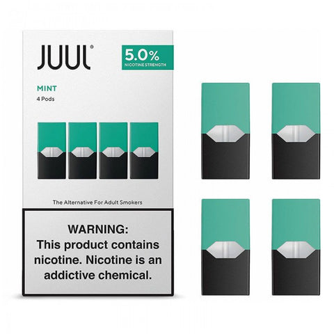 Mint By JUUL (4 Pods Pack) (IN STORE ONLY)