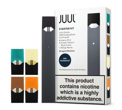 JUUL Starter Kit Including 4 Pods (IN STORE ONLY)
