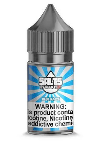 Blue Razz By Keep It 100 Nic Salt E-Liquid - 30ML