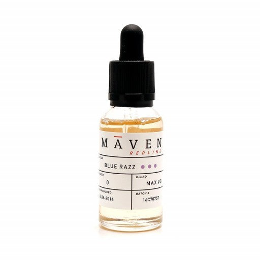 Blue Razz By Maven E-Liquid - 30ML - Sagavape.com
