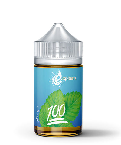 IBliss E-Splash Menthol E-Liquid - 100ML - Sagavape.com