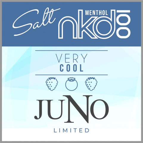 Naked 100 Very Cool JUNO Pods (4 Pack)