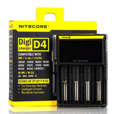 Nitecore Intellicharger D4 LCD 4-Slot Universal Charger