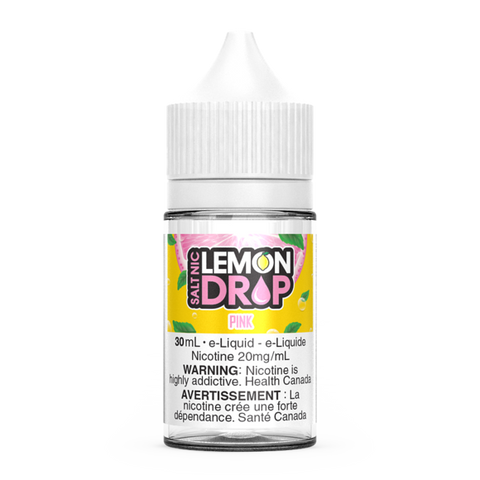 Pink Lemonade By Lemon Drop Nic Salt E-Liquid - 30ml