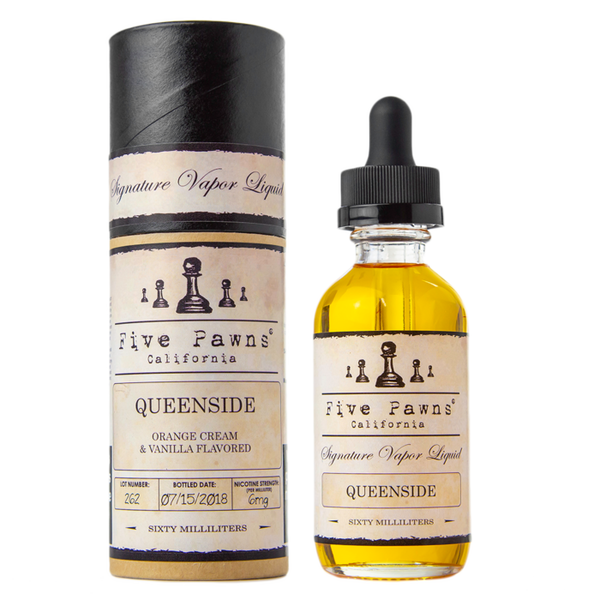 Queenside By Five Pawns E-Liquid - 60ML