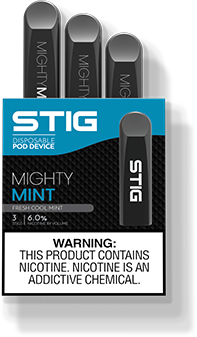 Might Mint By STIG Disposable Pod Device