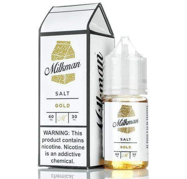 GOLD By The Milkman Nic Salt E-Liquid- 30ml