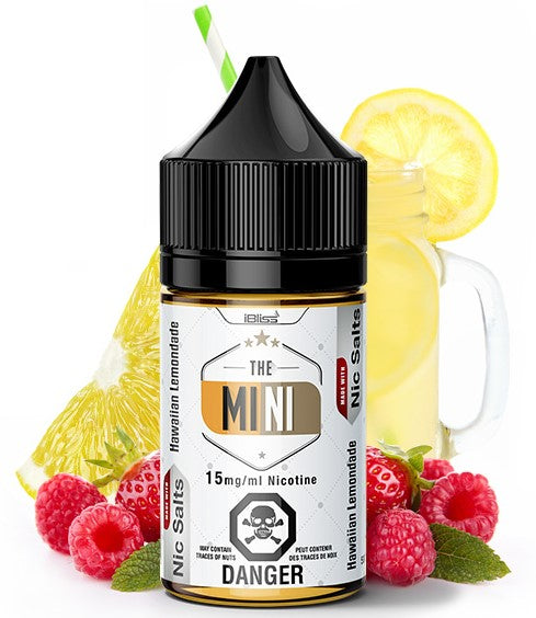 Hawaiian Lemonade - The MINI By iBliss Nic Salt E-Liquid - 30mL