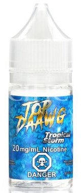 Tropical Storm Salt By Top Daawg Nic Salt- 30mL