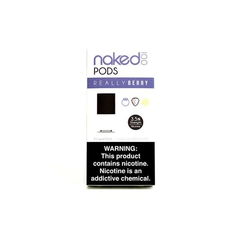 Naked 100 Really Berry Pods (4Pack)