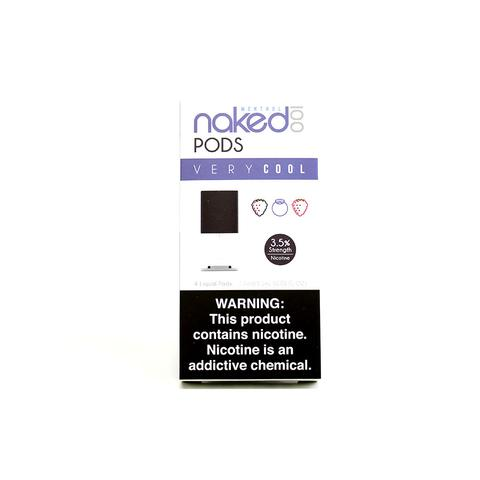 Naked 100 Very Cool Pods (4Pack)