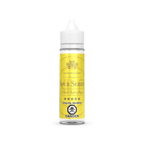 Green Apple Sours E-Liquid By Kilo - 60ML (Green Apple E-Liquid By Bazooka)