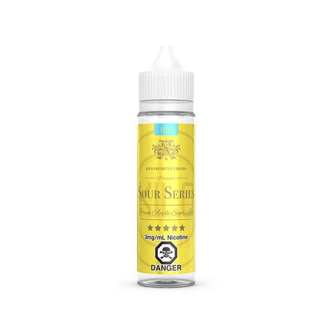 Green Apple Sours Ice E-Liquid By Kilo - 60ML (Green Apple Ice E-Liquid By Bazooka)