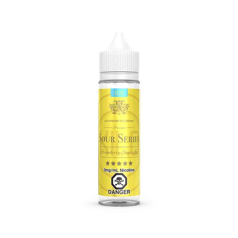 Strawberry Sours Ice E-Liquid By Kilo - 60ML (Strawberry Ice E-Liquid By Bazooka)