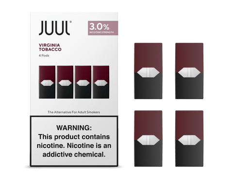 Virginia Tobacco By JUUL (4 Pods Pack) (IN STORE ONLY)