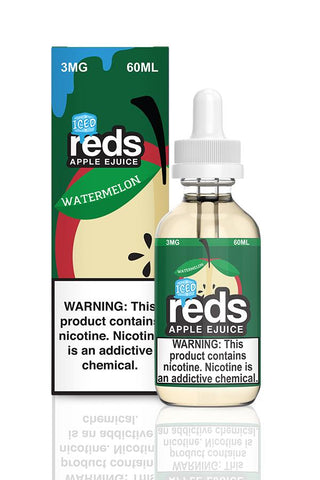 Iced Reds Apple eJuice Watermelon By 7Daze E-Liquid - 60ML - Sagavape.com