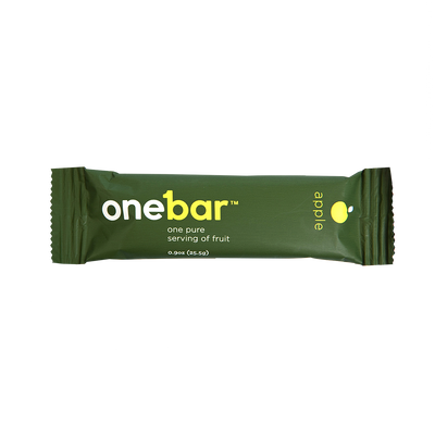 Single Onebar apple flavor.
