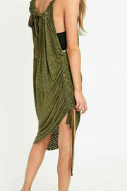 Staring At Star Anthropologie Andree Convertible Midi Dress S