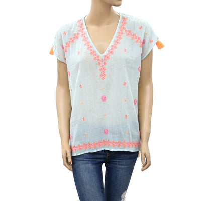 Lilly Pulitzer Sydney Gauze Coverup Blouse Top XXS/XS