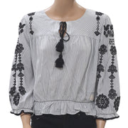 Odd Molly Anthropologie Sparkling Blouse Top M