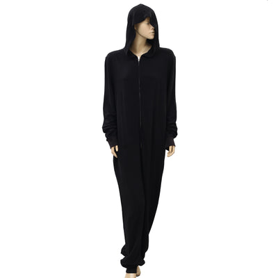 Soft Surroundings Black Hoodie Jumpsuit Dress XL