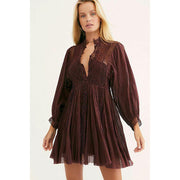 Free People FP One Karma Eyelet Mini Dress
