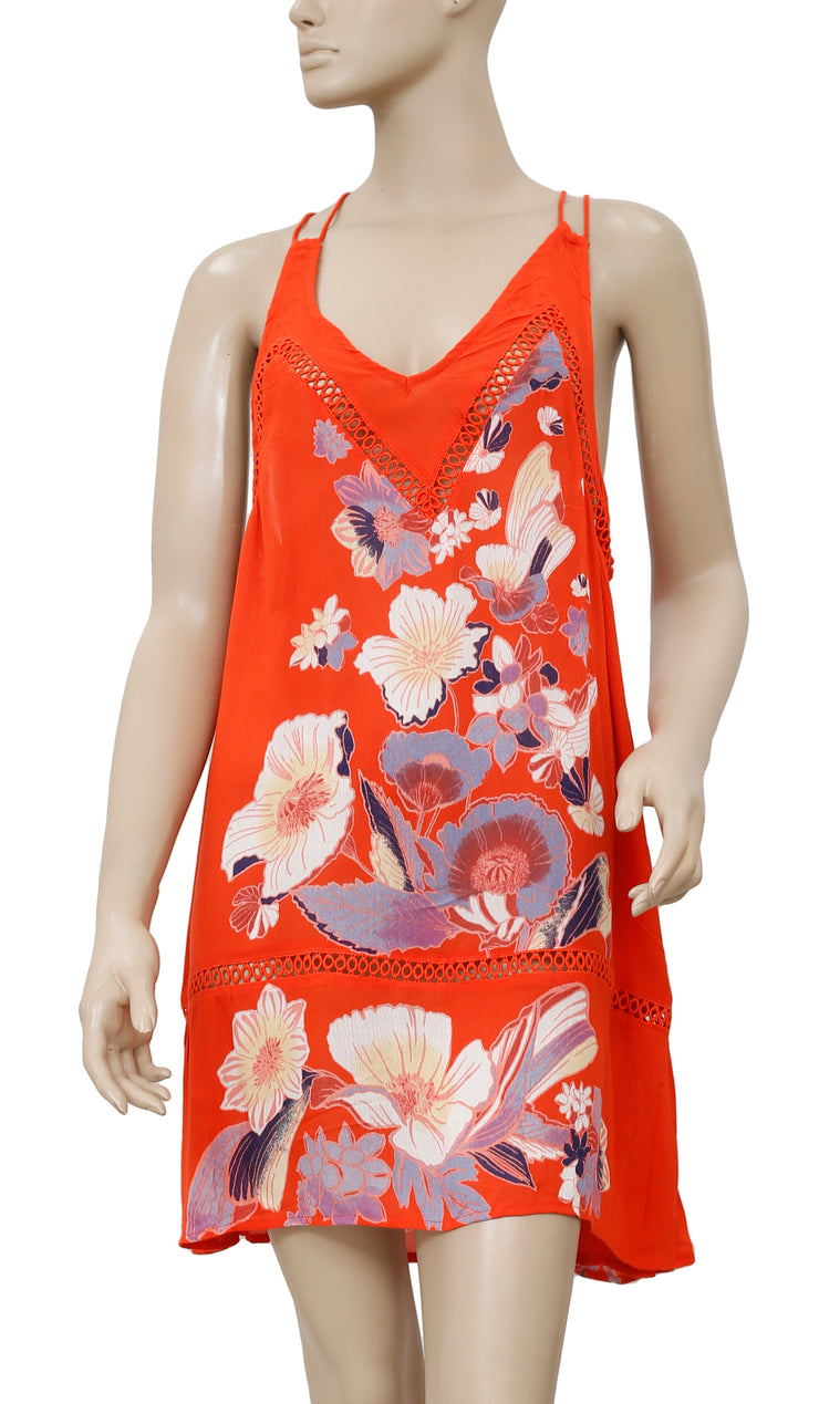 Free People Willow Floral Printed Dress S