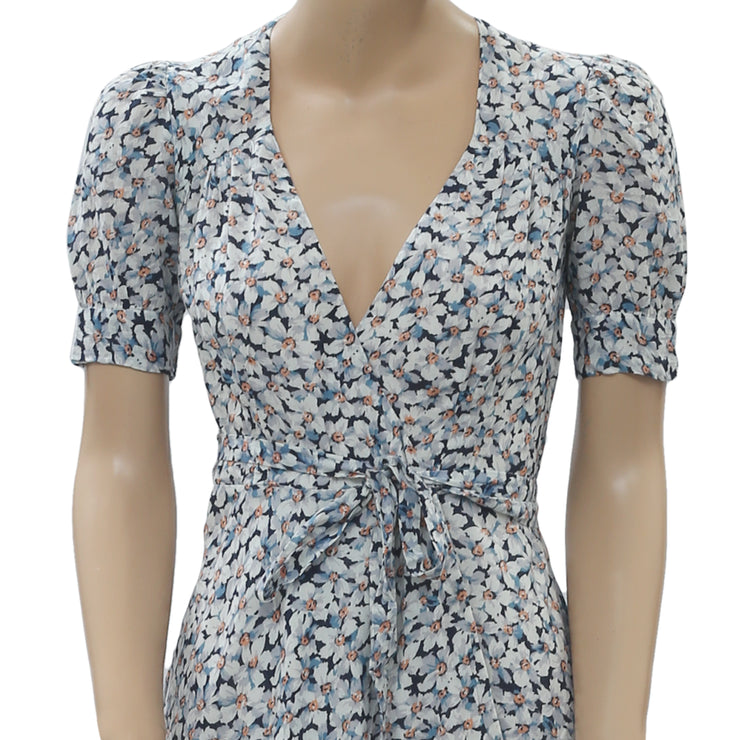 Denim & Supply Ralph Lauren Floral Printed Coverup Wrap Dress XS