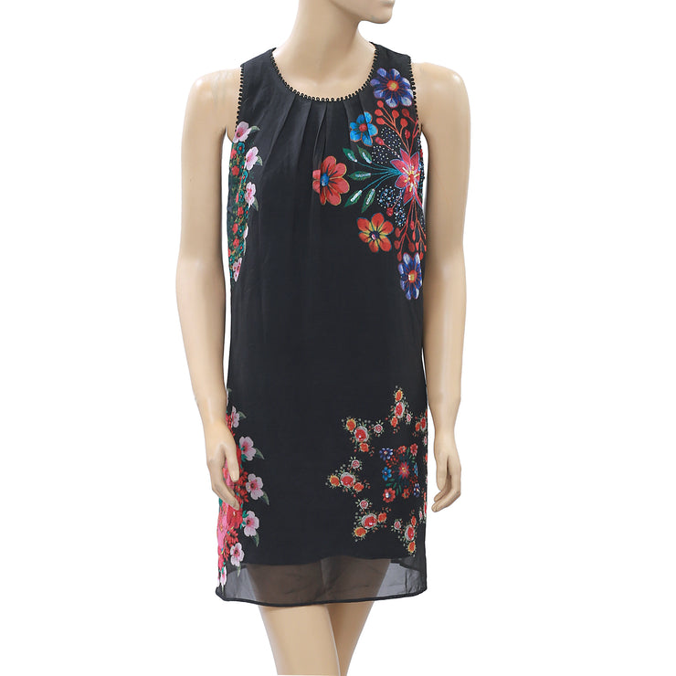 Desigual Floral Printed Tunic Dress XS/S