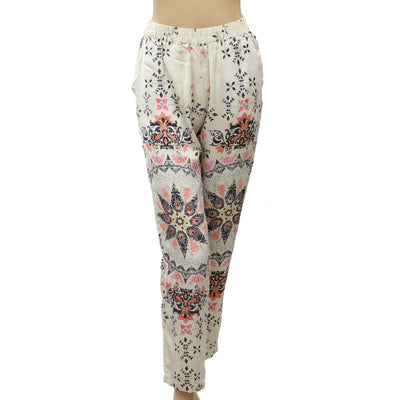 Odd Molly Anthropologie Floral Printed Pants S 1