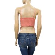 Free People FP One Geo Bralette Crop Top XS