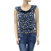 Abercrombie & Fitch Floral Printed Blouse Top XS