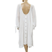 Free People Diving In Your Heart Tunic Top XS/S