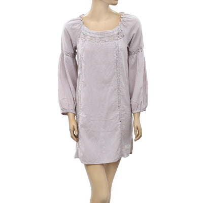 -Odd Molly Anthropologie Lace Tunic Dress S-1