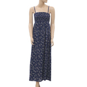 Monsoon Floral Printed Maxi Dress M